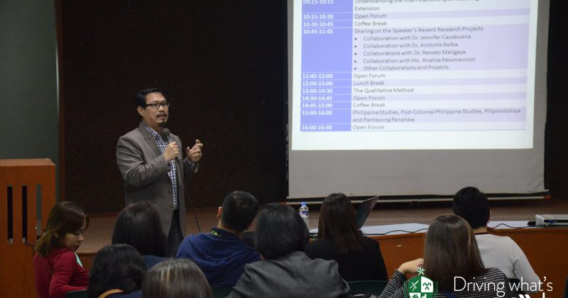 Qualitative Research Seminar Workshop 02.14.2017
